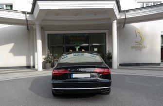 Wyjątkowe Audi A8 long do ślubu Kraków