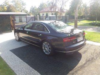 Audi A8L Łódź