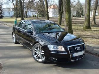 Limuzyna do ślubu Audi A8 Warszawa Legionowo