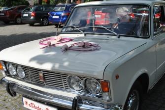 Fiat 125p 1975 r. Polonez Borewicz - wynajem samochodu do ślubu  Żagań