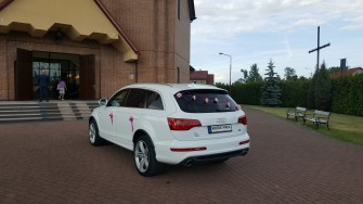 Audi Q7 S-Line Ślub/Wesele  Warszawa