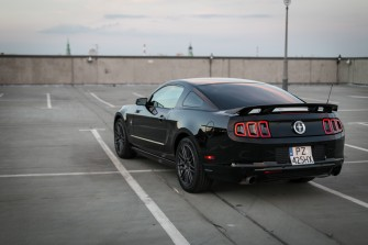 Czarny Mustang Pozna�