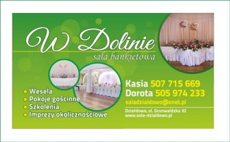 """""""W Dolinie"""" Sala Bankietowa Działdowo"""