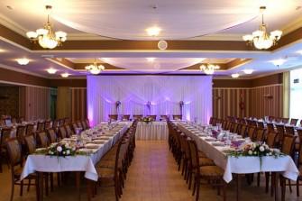 Dekoracje sal weselnych śląsk Ogrodzieniec