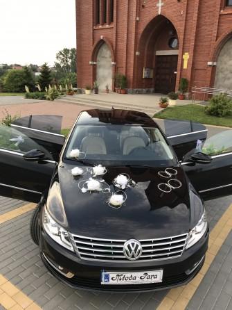 Do ślubu czarnym Vw CC- nowy model Łomża