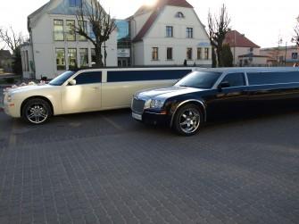 Piękna limuzyna do ślubu i na co dzień Sławno