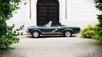 Mercedes 230 SL 1967r  Poznań