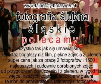 fotografia ślubna cena Katowice