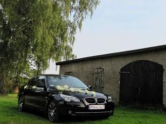LIMUZYNA DO ŚLUBU*CZARNE BMW E60* Warszawa
