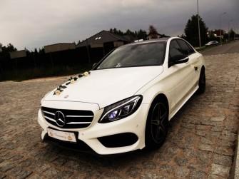 Mercedes-Benz Klasa C AMG Biała perła! Polecam! Częstochowa