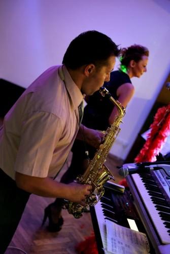 Grzegorz na saksofonie Leszno