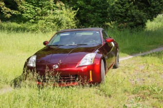 Auto do �lubu kabriolet Nissan sportowy samoch�d do reklamy wynajem ��d�