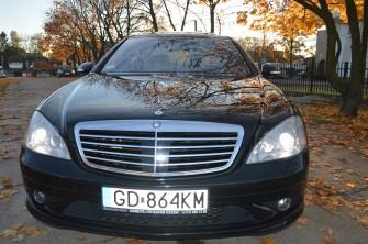 Mercedes S klasa AMG 4matic - wynajmę do ślubu Gdańsk