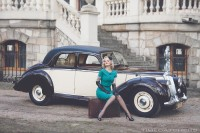 Koła Czasu-samochód retro do ślubu Sosnowiec