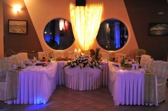 stół weselny Stegna