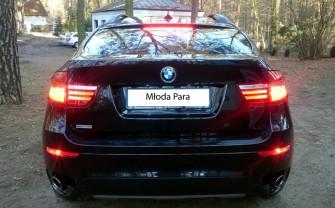 Luksusowe BMW X6, full opcja, 2013, do ślubu Warszawa