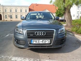 Auto do ślubu AUDI Q5 jest na czym oko zawiesić tanio i zjawiskowo Kępno