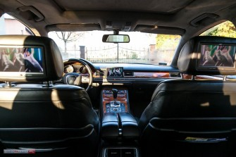 BMW seria 5 i AUDI A8L - wynajem, do ślubu Kutno