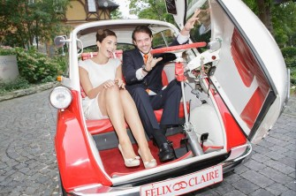 Książę Luksemburga wziął ślub BMW ISETTA Radom