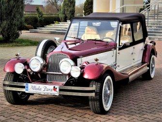 Luksusowe samochody RETRO do ślubu Auta zabytkowe na ślub wesele Warszawa