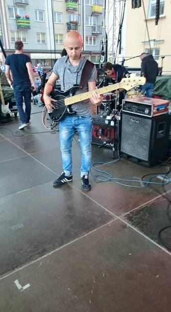 Tomek- gitara basowa Warszawa