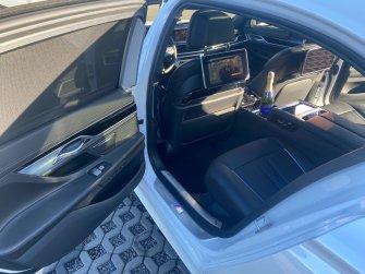 Auto do ślubu - najnowsze BMW 750 LANG SUPER VIP LIMUZYNA  BIAŁA PERŁA Gdynia