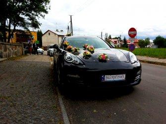 samochód do ślubu na wesele auto Porsche Panamera TANIO 899zł! 5 osób. Warszawa