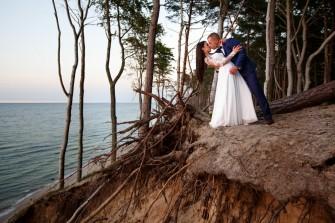 sesje ślubne nad morzem  Poznań