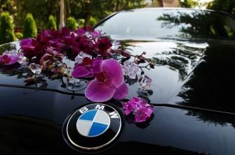 BMW czarne Warszawa