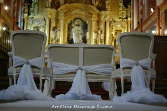 Ławeczka i krzesła Ślubne Toruń