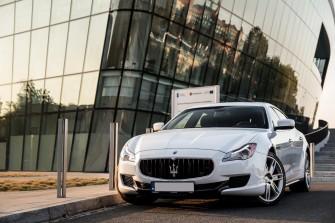 Maserati Quattroporte  łódź