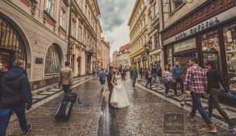 Praga - sesja ślubna / plener. Wrocław