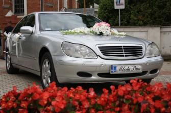 Atrakcyjna cena!!! SAMOCHÓD DO ŚLUBU MERCEDES S AUTO LIMUZYNA do ŚLUBU Warszawa