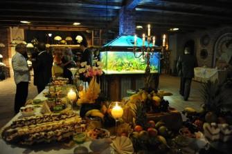 Diamentowa kawiarenka - akwarium. Elbląg