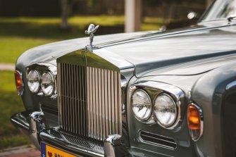 Auto do ślubu / imprezy okolicznościowe / wesele Rolls Royce 1970 Zielona Góra