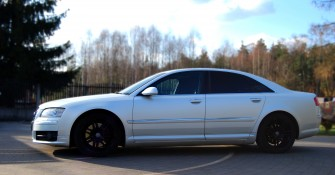 Białe Audi A8 S8 prawdziwy unikat! Chrzanów