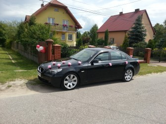 PIĘKNE BMW E60. IDEALNA LIMUZYNA DO ŚLUBU. OKAZJA !! Kielce