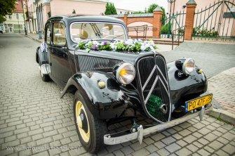 Citroen BL-11 zabytkowa limuzyna do ślubu Poznań