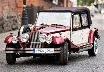 Zabytkowe Auto do ślubu RETRO kabriolet na ślub Samochody weselne Kozienice