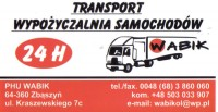 Wypo�yczalnia samochod�w WABIK Wolsztyn