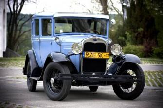 Ford model A z 1930 r. Rzeszów