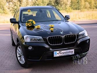Auto do ślubu bmw x3 Gliwice