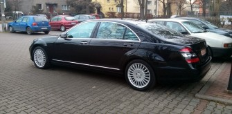 Mercedes S Klasa Long Wrocław