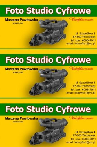 wizytówka  firmy Włocławek