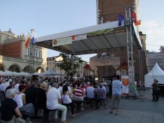 Close2U - koncert Rynek G��wny Krak�w