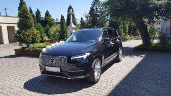 LUKSUSOWE VOLVO XC90 - czarny samochód (SUV) do ślubu, wesela - Śląsk  Bielsko-Biała