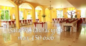 Hotel Chrobry, sala weselna do 150 osób Pokrzywna