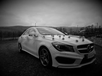 Samochód do ślubu Mercedes Benz CLA 200 AMG Maków Podhalański