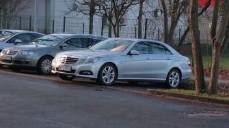 Samochód do ślubu, Płock Mercedes E