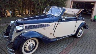 BMW 320 1937rok Cabrio PŁOCHOCIN